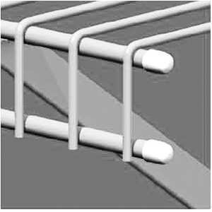 Ventilated Shelving Small End Caps
