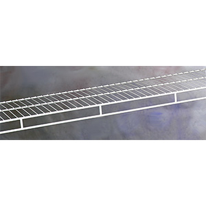 "Closetmaid Ventilated Shelf and Rod 16""D x 12 Ft"
