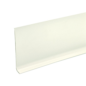 "Vinyl Cove Base White 4"" x 60' Roll"