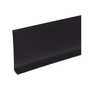 "Vinyl Cove Base Black 4"" x 60' Roll"