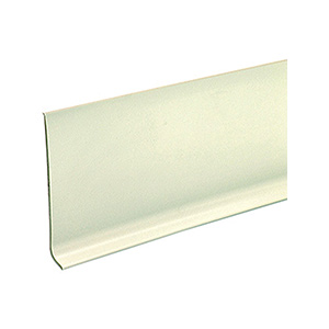 "Vinyl Cove Base White 4"" x 48"""