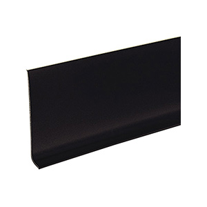 "Vinyl Cove Base Black 4"" x 48"""