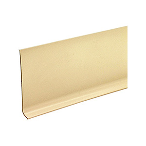 "Vinyl Cove Base Almond High Gloss 2-1/2"" x 48"""