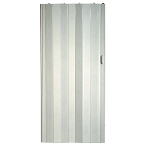 "Vinyl Folding Door White 36"" x 80"""
