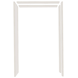 """Interior Door Wood Jamb Set 4-5/8"""" 3-Piece"""