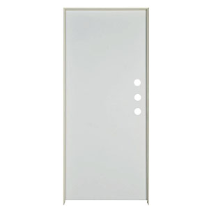 "Exterior Flush Steel Prehung Door LH 36"" x 80"" x 1-3/4"""