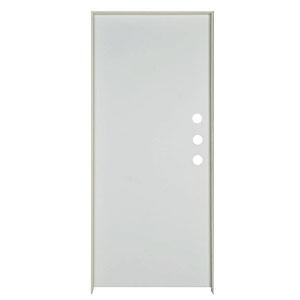 "Exterior Flush Steel Prehung Door RH 36"" x 80"" x 1-3/4"""