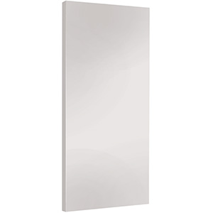 "Interior Flush Hardboard Primed Slab Door 24"" x 80"""