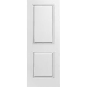 "Interior 2-Panel Smooth Primed Slab Door 24"" x 80"""