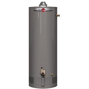 Rheem 40 Gallon Tall Gas Water Heater 38,000 Btu