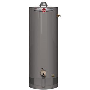Rheem 50 Gallon Tall Gas Water Heater 38,000 Btu