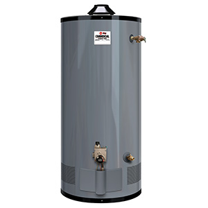 Rheem 75 Gallon 75,000 Btu Commercial Gas Water Heater
