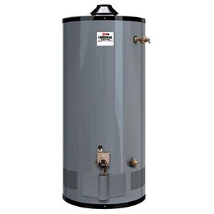 Rheem 100 Gallon 80,000 Btu Commercial Gas Water Heater
