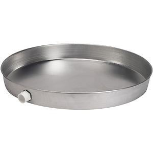 """22"""" I.D. Aluminum Water Heater Drain Pan"""