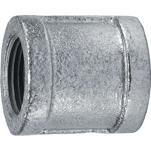 Galvanized Coupling 1/2""