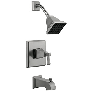 Design House Torino Satin Nickel Tub/Shower Faucet Set