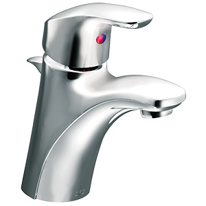 CFG Baystone Chrome Lavatory Faucet with Pop-Up