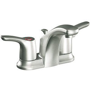 CFG Baystone Brushed Nickel Lavatory Faucet with Pop-Up