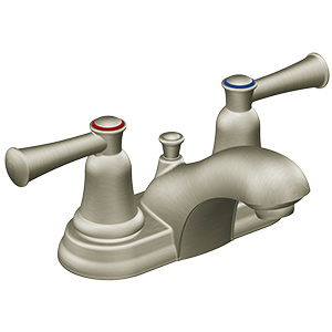 CFG Capstone Brushed Nickel Lavatory Faucet