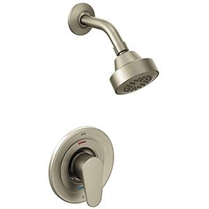 CFG Edgestone Brushed Nickel Shower Trim Only 1.75 GPM