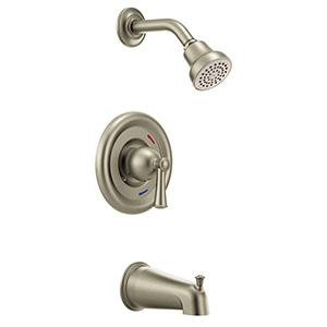 CFG Capstone Brush Nickel Tub/Shower Trim Only 1.75 GPM