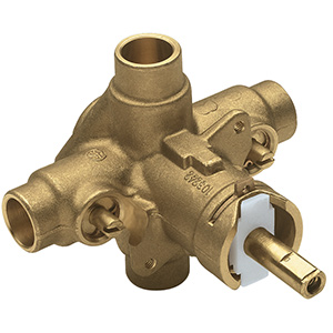 Moen PosiTemp Rough-In Valve with Stops Sweat