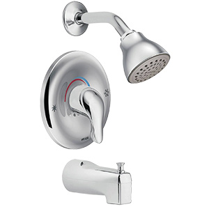 Moen Chateau Chrome Tub/Shower Set 2.5 GPM