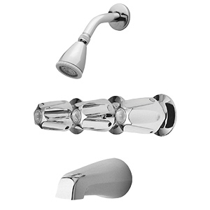 Pfister 3-Handle Chrome Tub/Shower Set 1.8 GPM