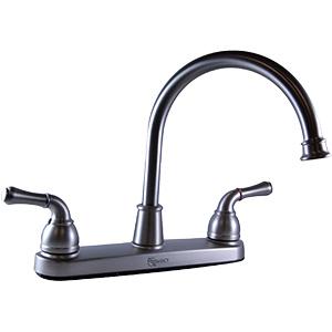 Banner Hi-Spout Brushed Nickel Kitchen Faucet