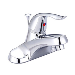 Banner Chrome Lavatory Faucet with Pop-Up