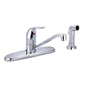 Banner Chrome Kitchen Faucet with Spray