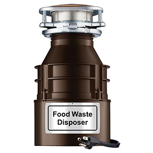 FWD 2 1/2 HP Disposer with Power Cord