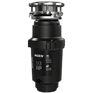 Moen GX Pro Series 1/3 HP Garbage Disposer