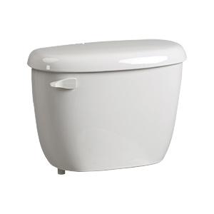 Briggs 1.28 GPF Toilet Tank White