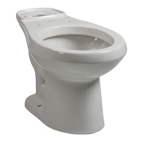 Briggs Round Toilet Bowl White