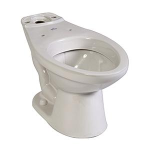 Briggs Elongated Toilet Bowl White