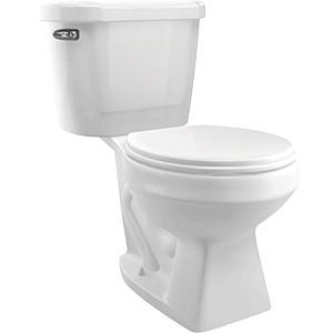Cato 1.28 GPF White Complete Toilet