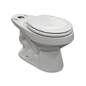 Niagara Ecologic Flapperless Toilet Bowl White