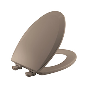 Church Wood Premium Quick-Change Elongated Toilet Seat Beige