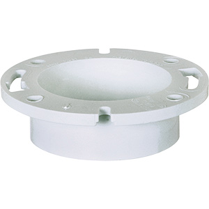 "4"" PVC Toilet Bowl Floor Flange"
