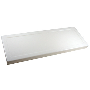 Fit-All Plastic Toilet Tank Lid