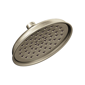 CFG Rain Shower Showerhead 1.75 GPM Brushed Nickel