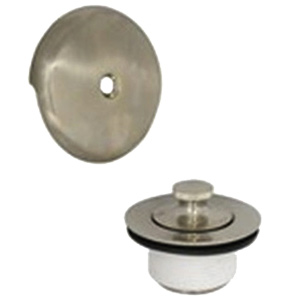 Lift & Turn Tub Drain Assembly Brushed Nickel