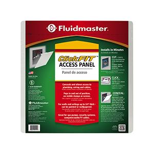 "Fluidmaster 14"" X 14"" White Plastic Access Panel"