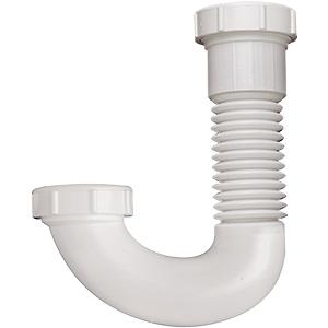 """Flexible PVC J- Bend 1-1/2"""" or 1-1/4"""""""