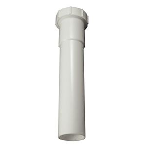 "PVC Slip Joint Extension Tube 1-1/4"" X 12"""