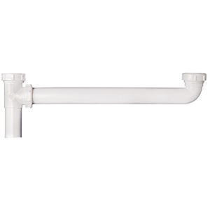 """PVC Slip Joint End Outlet Waste 1-1/2"""" x 16"""""""