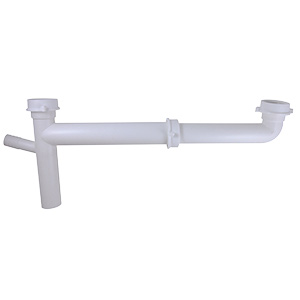 """PVC Telescopic Slip Joint End Outlet Waste 1-1/2"""" x 16"""""""