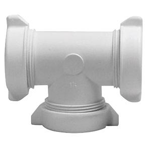"PVC Slip Joint Tee 1-1/2"""