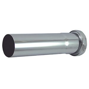 """Slip Joint Extension Tube 1-1/2"""" x 6"""" 22 Gauge"""